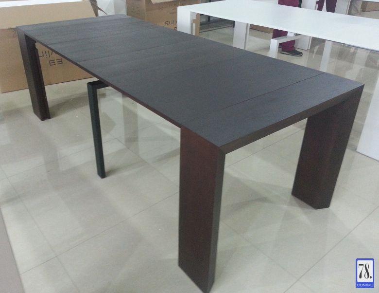 Стол-консоль (трансформер) b2316p — шпон Венге — Торговая Компания GD93