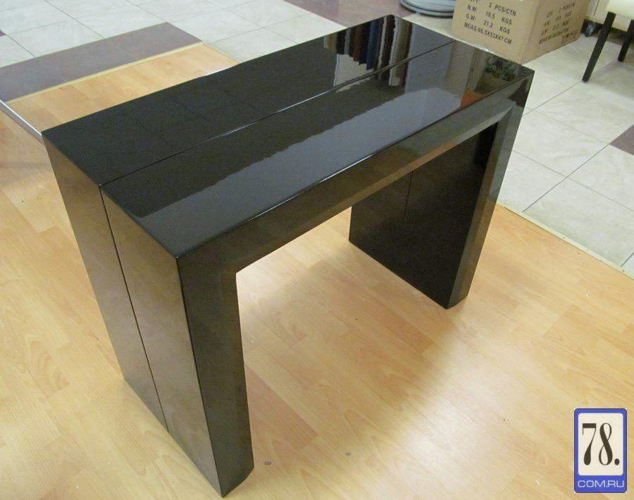 Стол-консоль (трансформер) B2307 черный