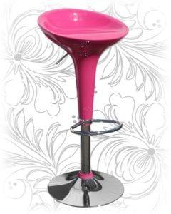 Стул барный HC-1004 розовый