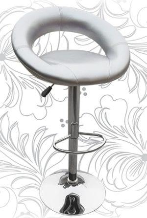 Барный стул HC-5001 МИРА серебро