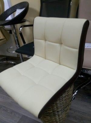 Стул HC-5006 кремово-коричневый