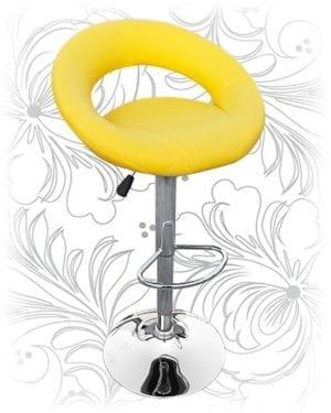 Барный стул HC-5001 МИРА желтый