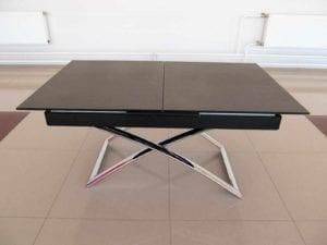 Стол В2275 черный гранит