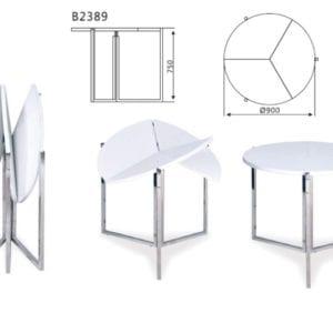Схема Стол складной В2389