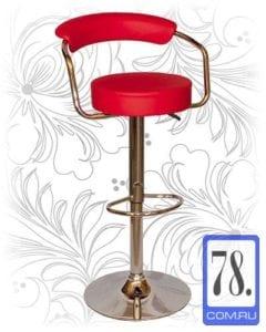 Барный стул HC-5013 красный
