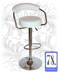 Барный стул HC-5013 белый