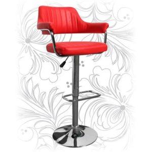 Барный стул HC-5019 красный