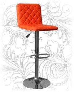 Стул барный HC-5003 оранжевый
