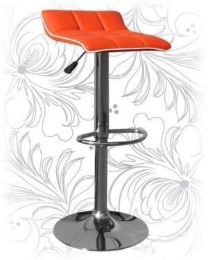 Стул барный HC-5014 оранжевый