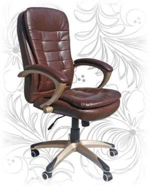 Офисное кресло 106В коричневое