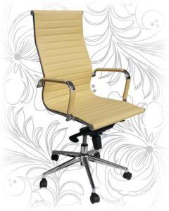 Офисное кресло 101F бежевое