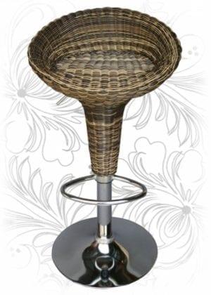 Барный стул HC-5000 Ротанг