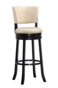 Барный крутящийся стул LMU-9090 капучино.