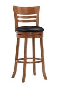 Барный крутящийся стул LMU-9393 шоколад.