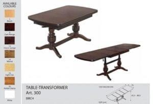 Стол-трансформер Optimata 300