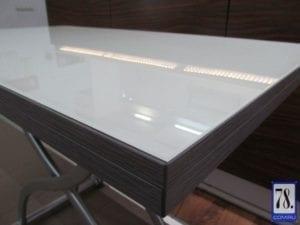 Стол-трансформер B2323-2 белое стекло