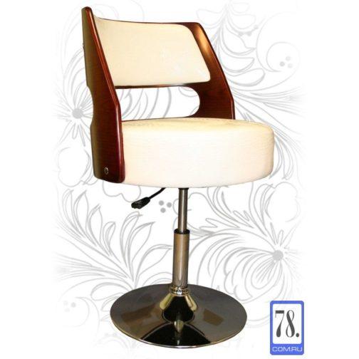 Барный стул LMZ-5368 Белый Крокодил