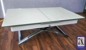 Стол В2275 белый пескоструй