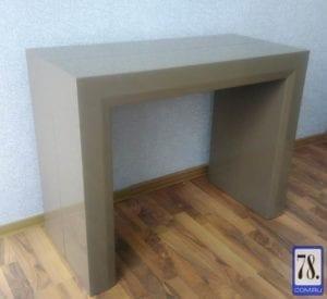 Стол-консоль В2307 темный кофе